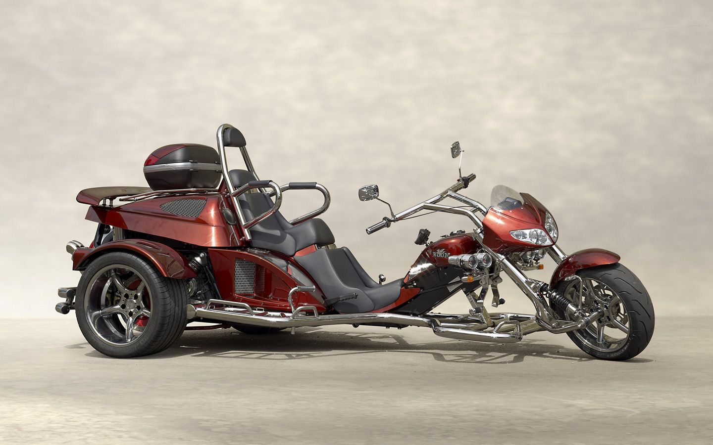 2017 boom fighter x11 trike is the biggest boom trike is called king