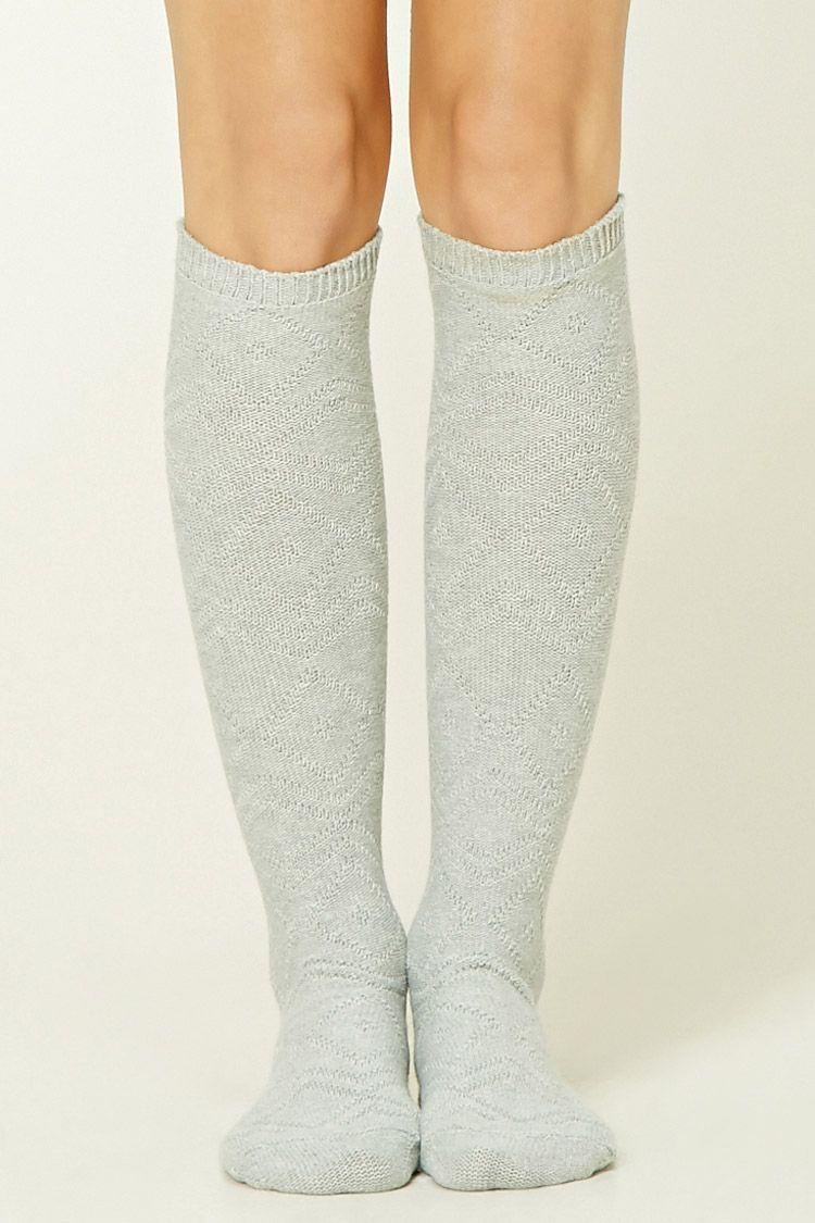 148bd95f8 Pointelle Knee High Socks