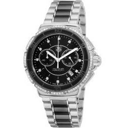 Tag Heuer Women's CAH1212.BA0862 'Formula 1' Black Ceramic Quartz Chronograph Watch - product - Product Review