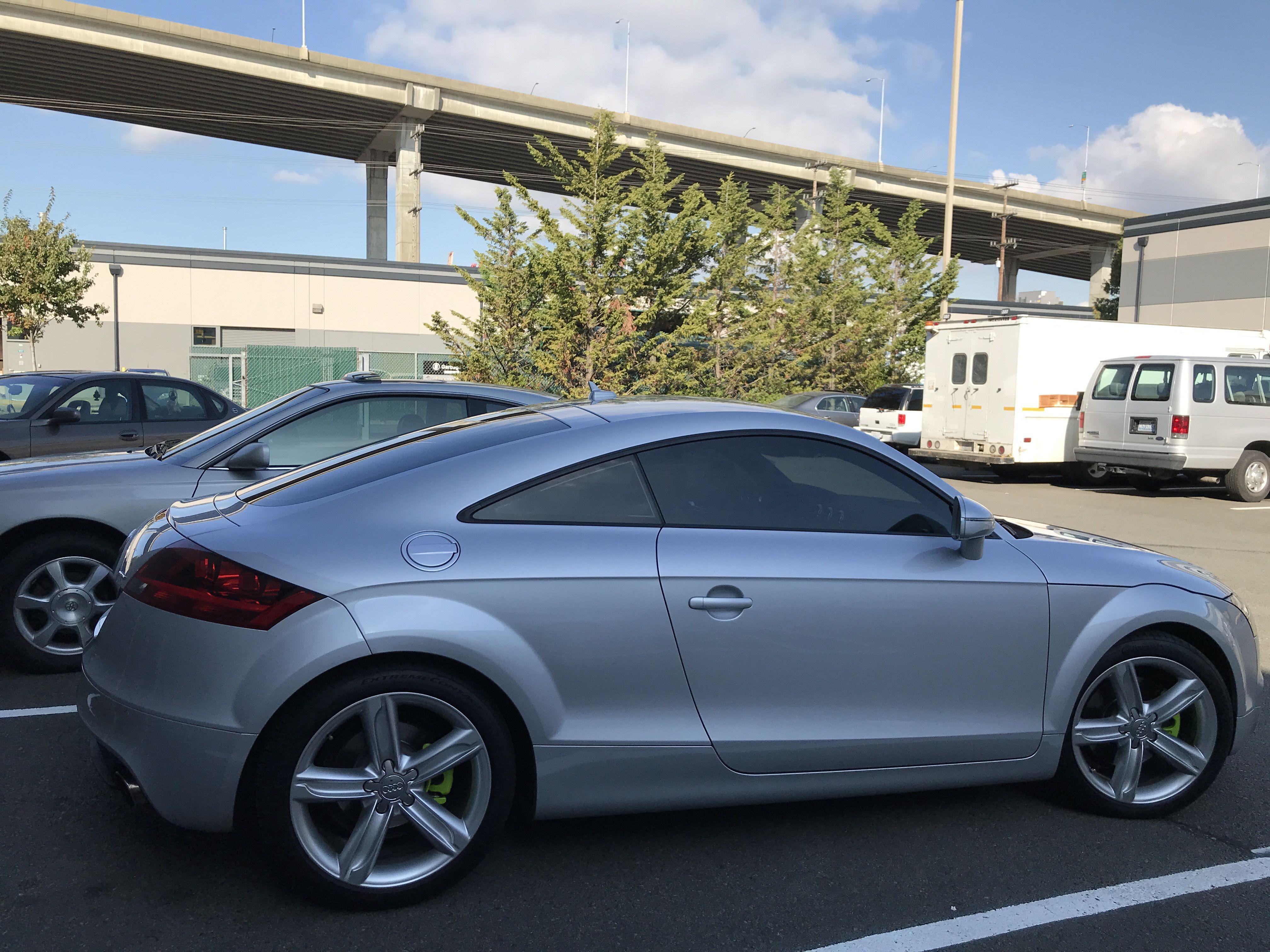 Audi Tt 3m Color Stable Window Tint Car Window Tinting Seattle