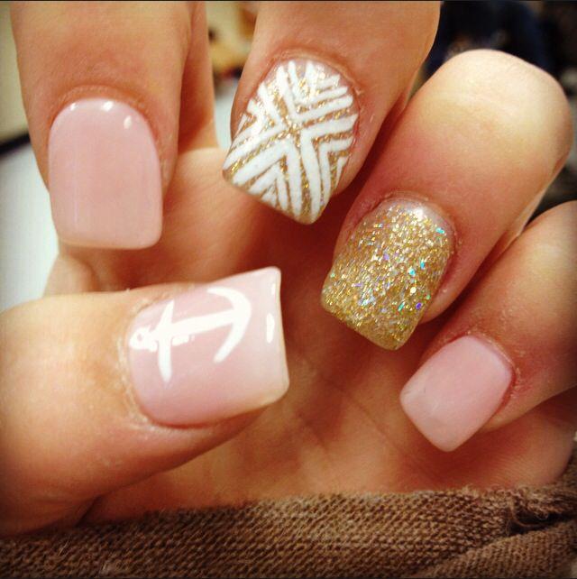 Got my spring break nails! | Cute nail art | Pinterest ...