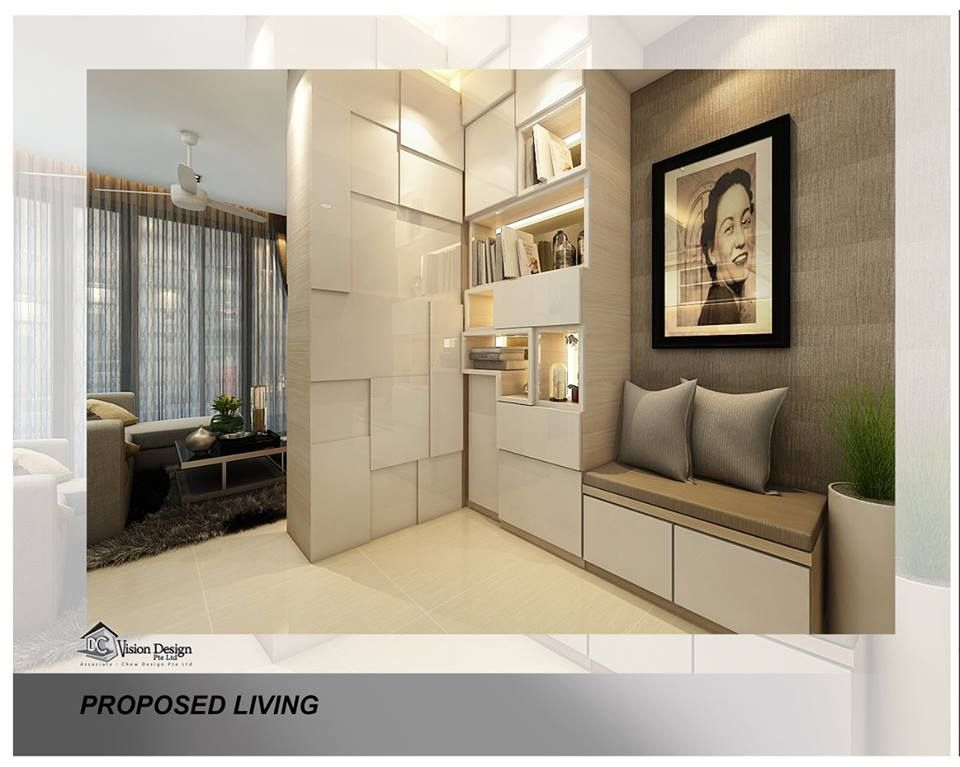 dc vision design contemporary living area shoes cabinet