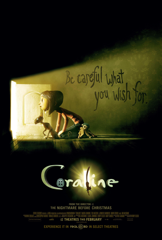 Neil Gaiman Coraline Coraline film, Coraline movie