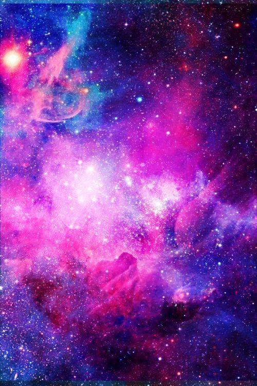 Colorful Cute Galaxy Infinity Love Paris Wallpaper We Heart It