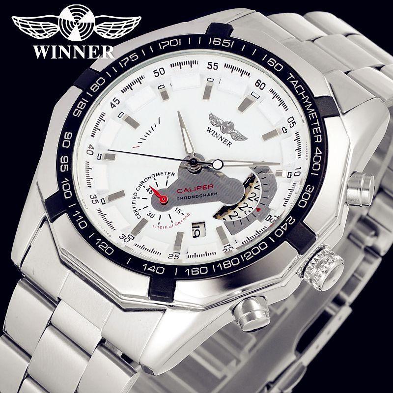 9115b2433fd Relógio Winner Caliper Automático - Dali Relógios