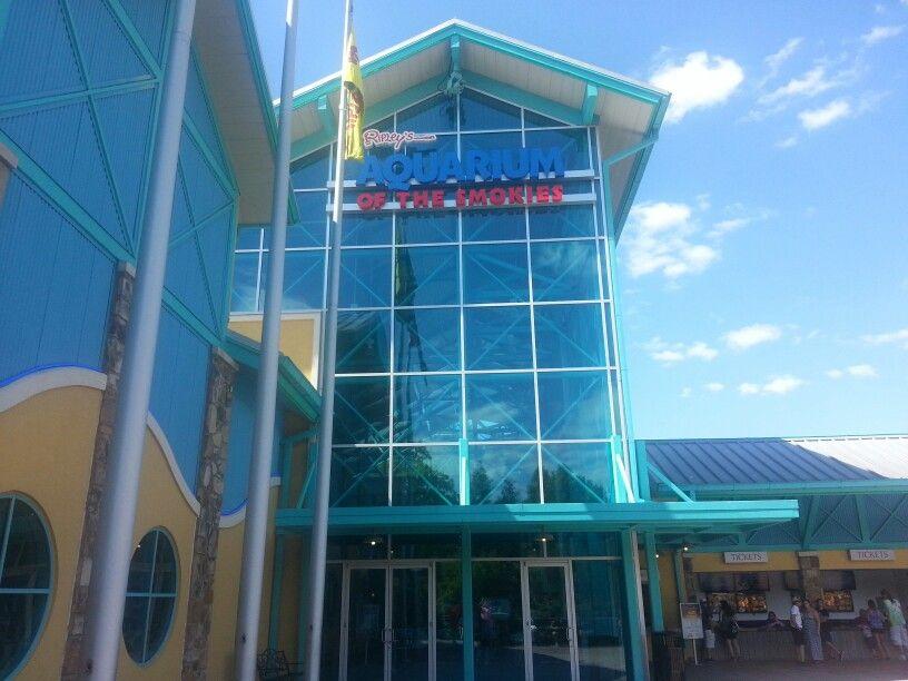 Aquarium of the Smokies in Gatlinburg, TN.