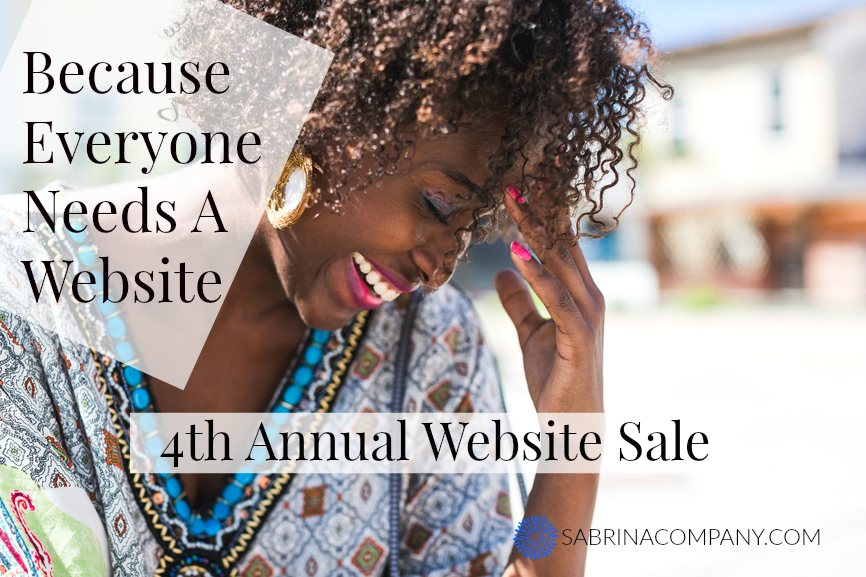 Website Sale, Yippee! My 4th annual website sale!