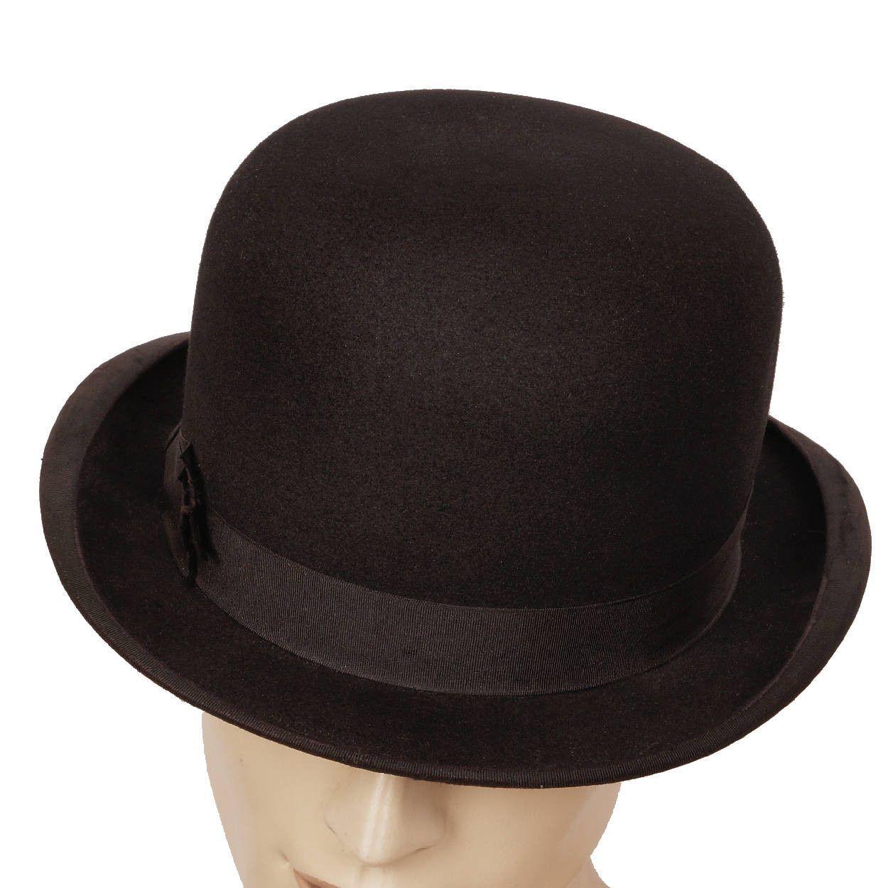 fd5e2083 Vintage Mens English Bowler Derby Hat Ross & Co London XXL 7 3/4 ...