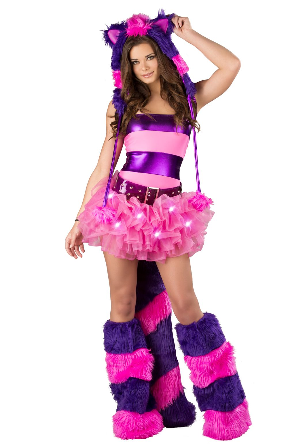 Cheshire Cat Tutu Costume By J Valentine | Light Up Cat Costume, J Valentine  Cheshire