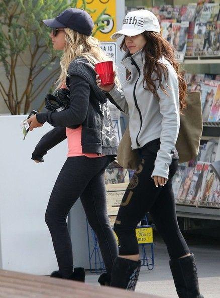 Ashley Tisdale - Vanessa Hudgens and Ashley Tisdale Work Out Together 2