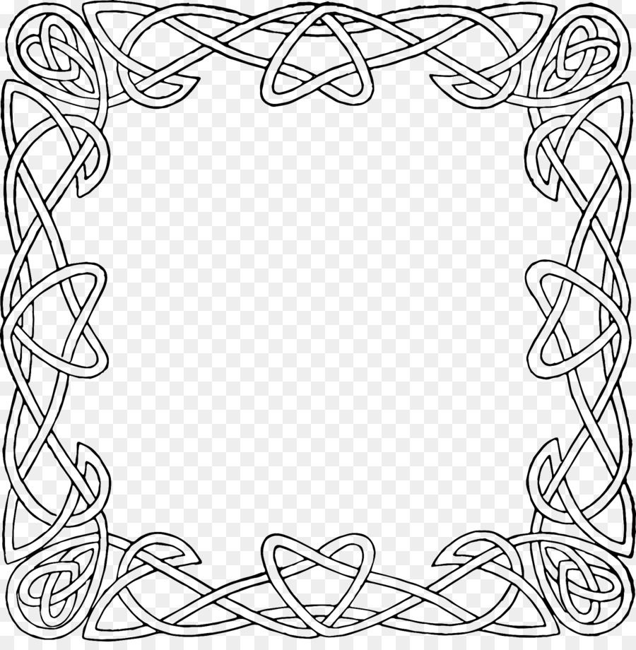 Celtic Knot Celtic Frames And Borders Ornament Clip Art Frame Ornament 1800 1815 Is About Picture Frame Line A Celtic Knot Drawing Celtic Art Celtic Symbols