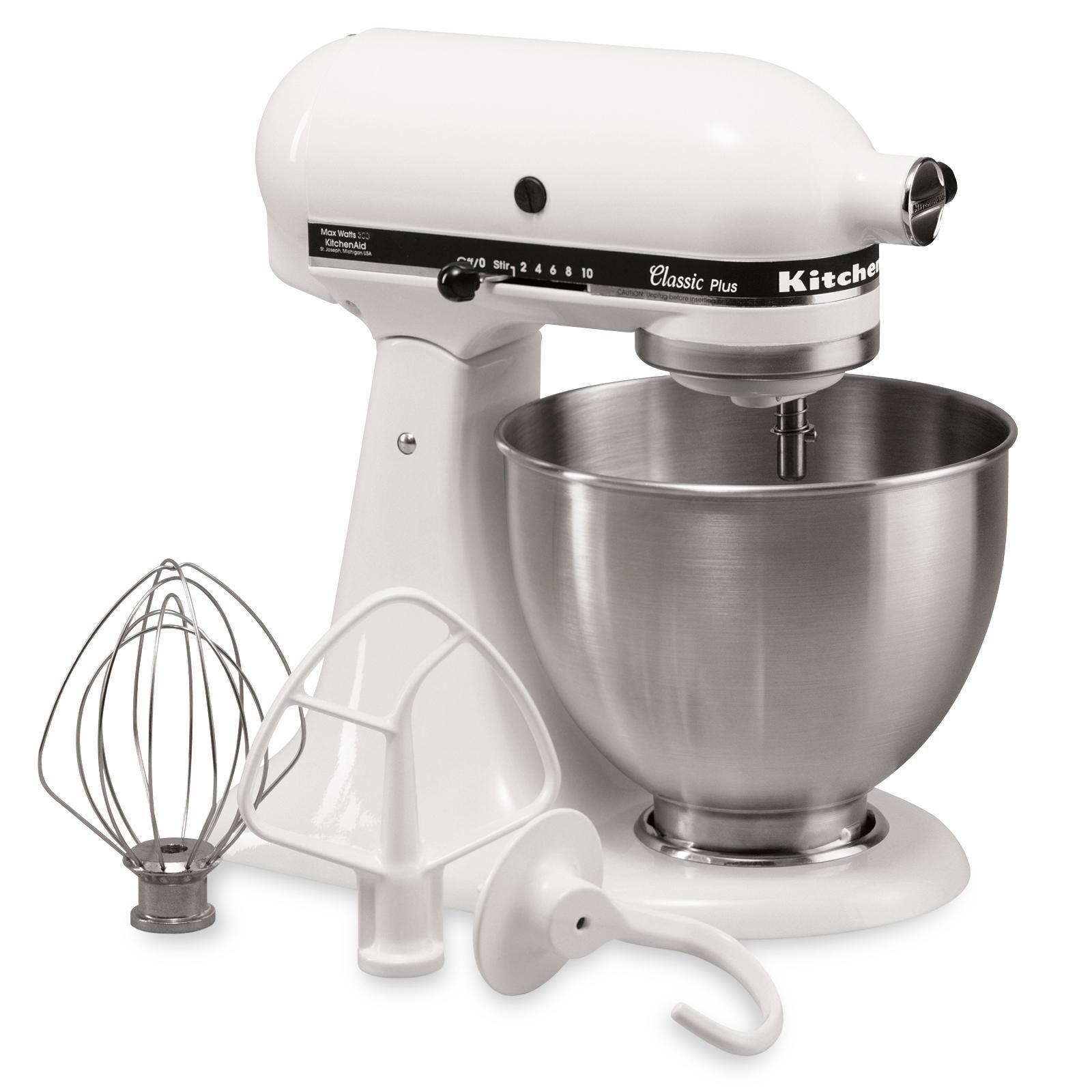 Kitchenaid Classic Stand Mixer White