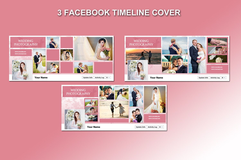 Wedding Facebook Timeline Cover Template 3 Timeline Template