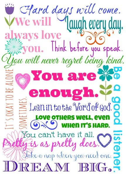 14 Things I Want My 14-Year-Old Daughter to Know {Part 2}