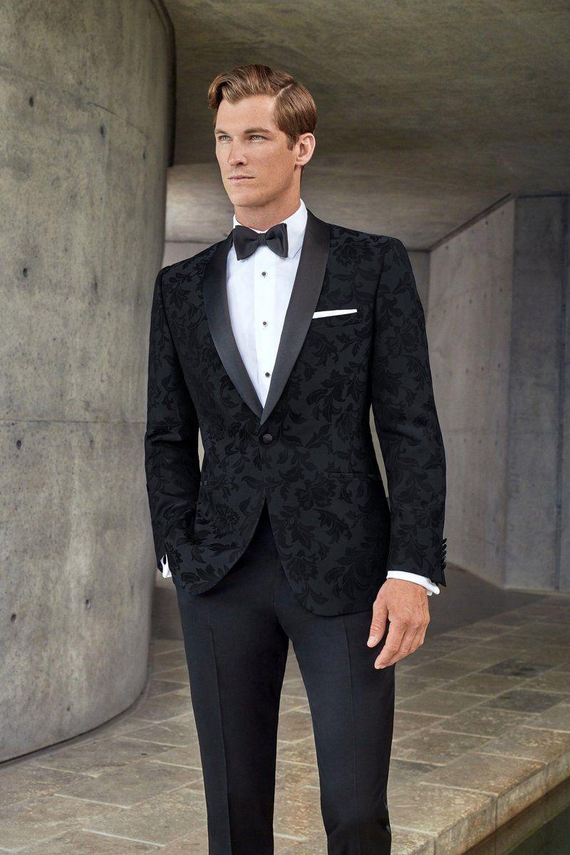 Couture 1901 Black Floral Tuxedo Jacket Separates What Does Separates Mean A Separates Program Al Prom Suits For Men Wedding Suits Men Black Black Suit Men [ 1200 x 800 Pixel ]