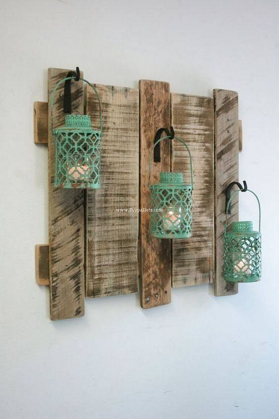 Importance of DIY wood pallet projects is increasing day by day. You can say that creative people prefer to use waste materials for crafting home decor items. So we present wood pallet idea that you can follow to craft indoor and outdoor furniture that will be of your choice and will be made by you. There is... #diyhomedecor #homedecorationitems