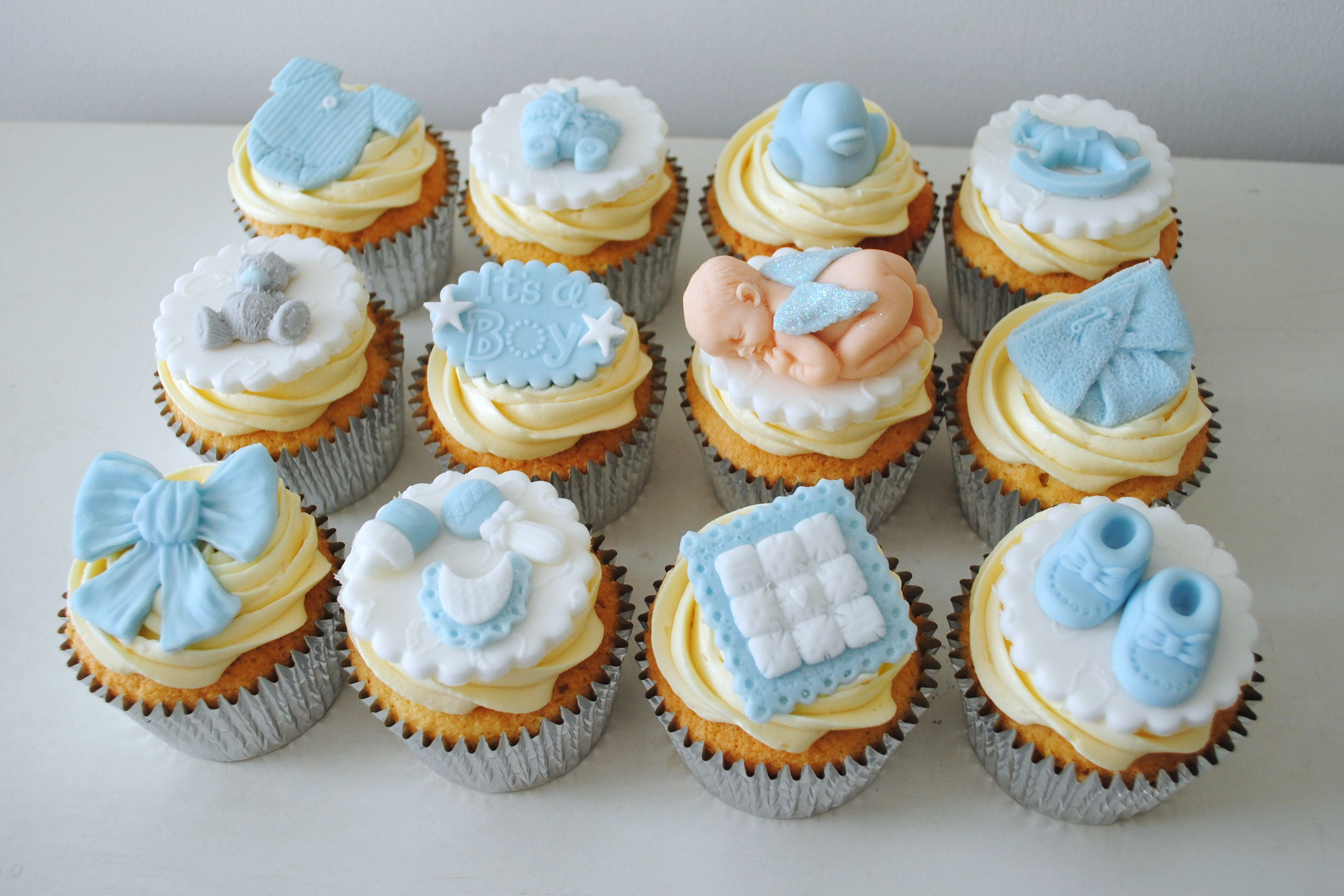 baby shower cupcakes Google Search Baby Cupcakes
