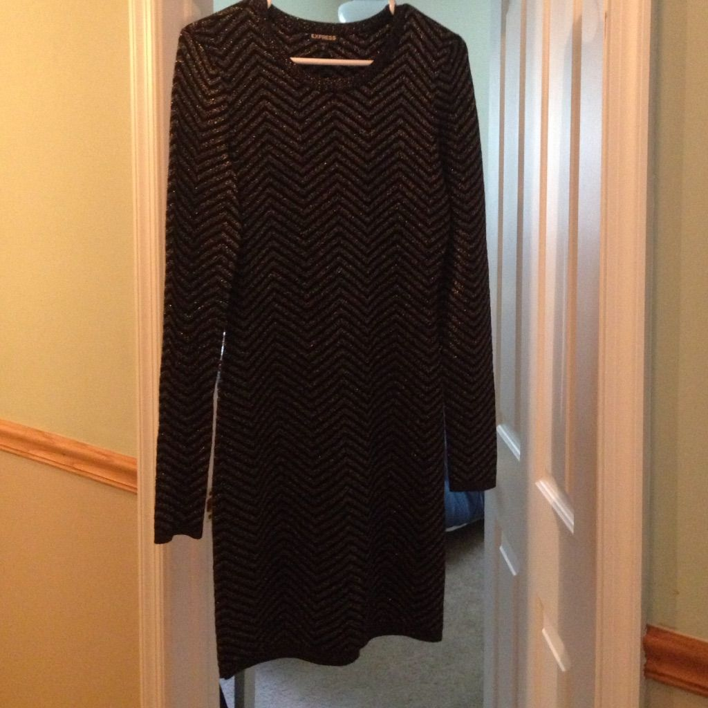 Long sleeve express sweater dress products