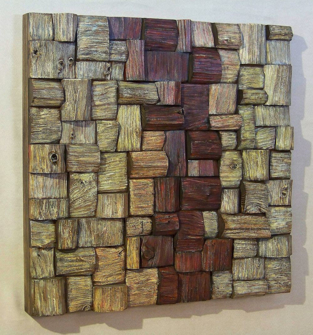 Corporate art wood art contemporary wood wall art eco art wooden