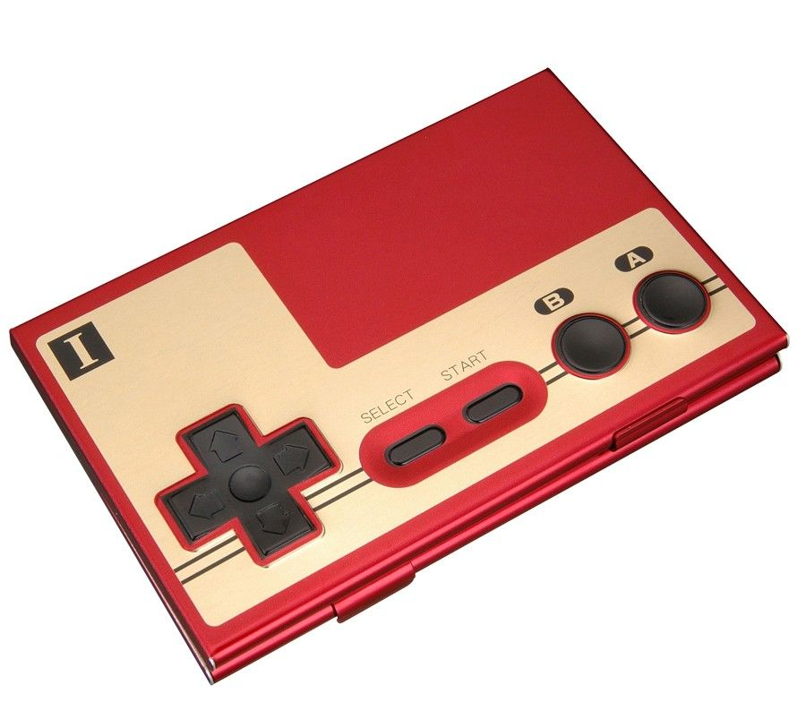 EXCLUSIVE NES Controller Player 1 Card Case | Stuff for me ...
