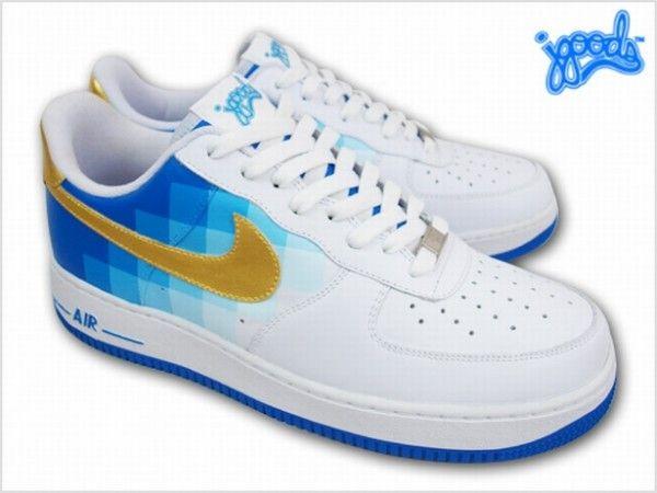 Nike Air Force 1 Pixel Fade | Sneakers nike, Nike air force