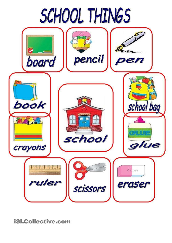 School Things School Worksheets Kindergarten Worksheets Kindergarten Worksheets Printable [ 1440 x 1018 Pixel ]