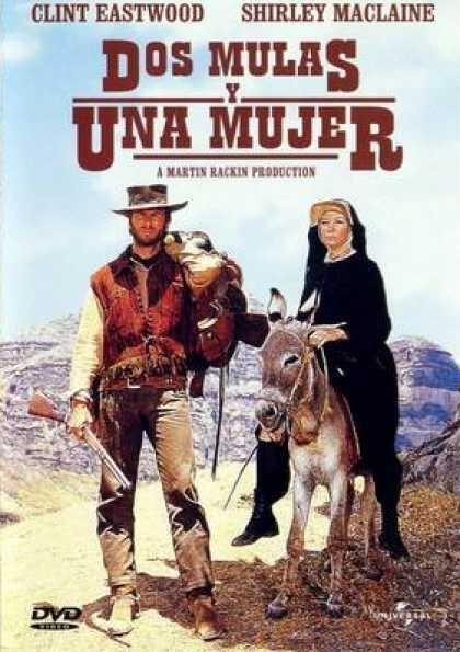Dos Mulas Y Una Mujer 1970 Don Siegel Peliculas De Vaqueros Carteleras De Cine Películas Del Oeste