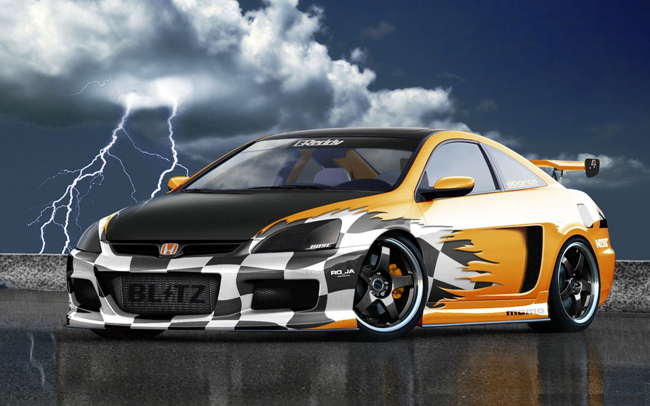 Image For Honda Sports Car Hd Wallpaper Honda Cars Pinterest