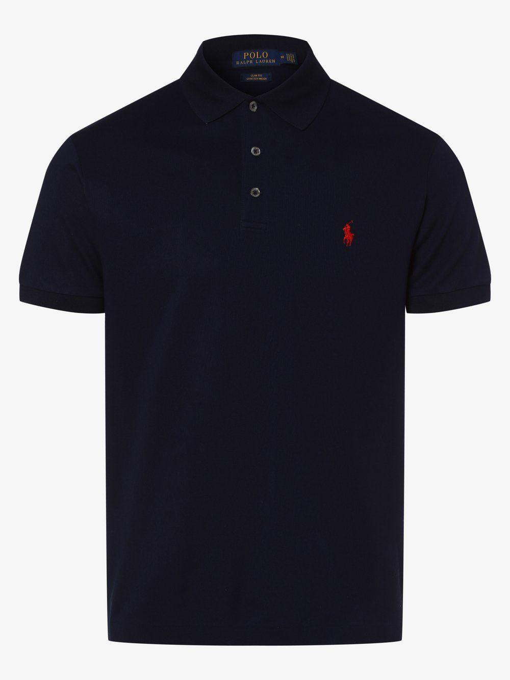 Polo Ralph Lauren Poloshirt Slim Fit Blau In 2020 Ralph Lauren Poloshirt Polo Ralph Lauren Und Poloshirt