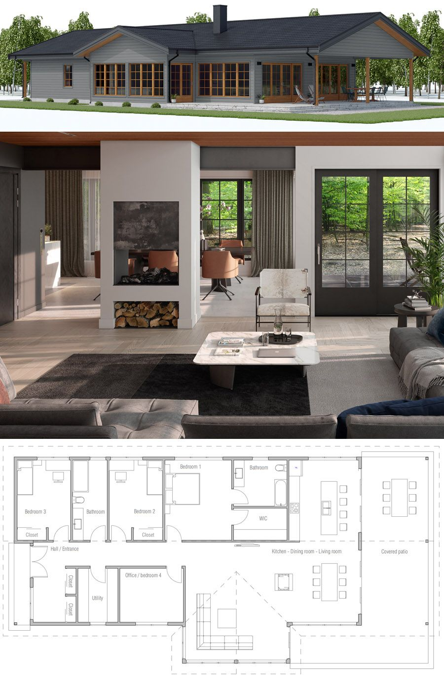 Home plan house designs homeplans floorplans newhomes architecture archdaily adhouseplans dwell interiordesign also rh pinterest