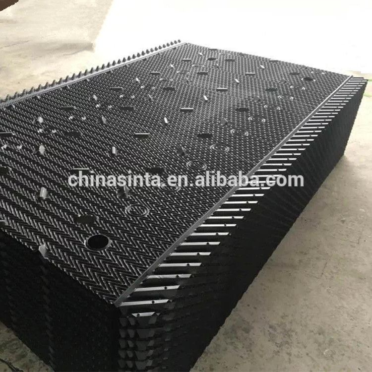 Mx 75 Type Cooling Tower Film Fill With Drift Eliminators And Louvers Cooling Tower Tower Hanging