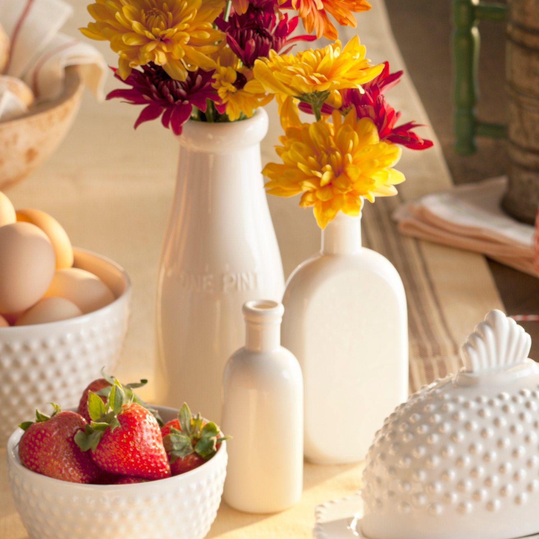 Swedish Interiordesign: Rosanna Farmhouse Pantry Bottle Bud Vase Set Of 3