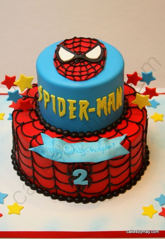 Birthday Cakes For Men Boys Spiderman Cake Parties