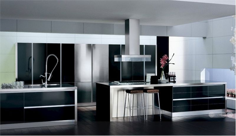 13 Amazing Kitchens With Black Appliances Include How To Decorate Beauteous South African Kitchen Designs 2018