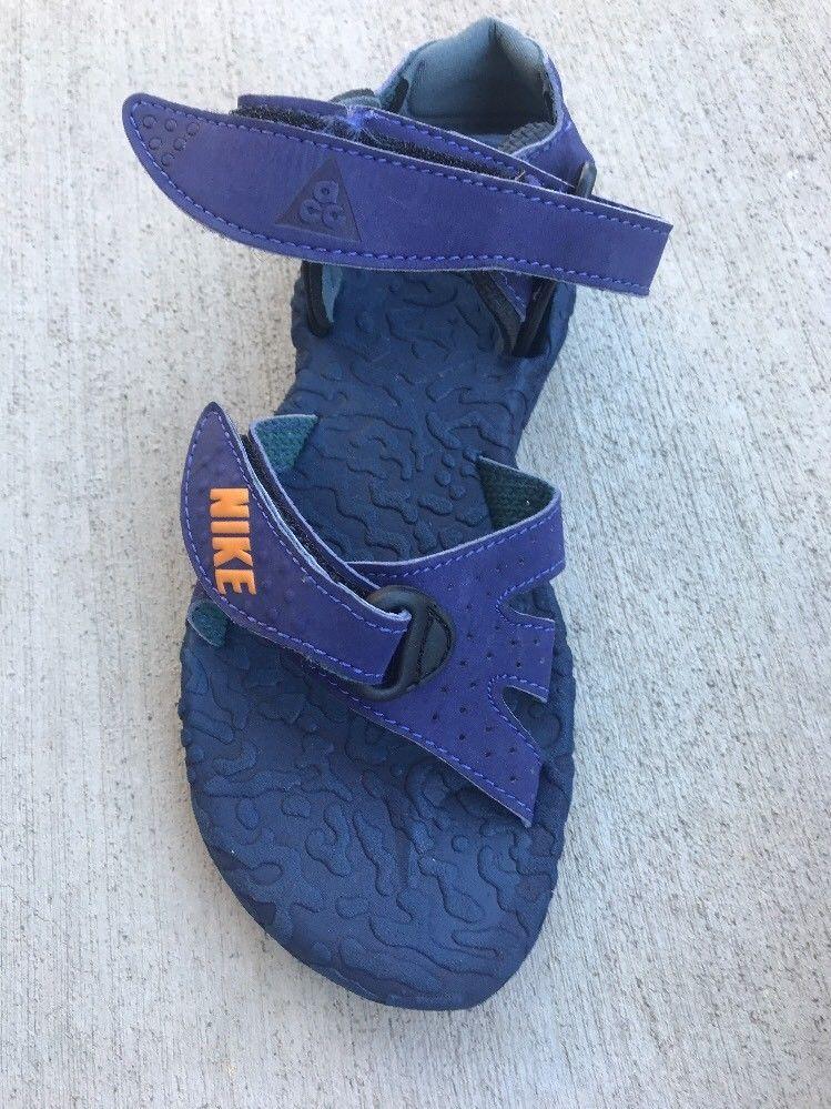 23be0dd9902b Vintage Women s Nike Air ACG Deschutz Waterproof Adjustable Sandals SZ 5  Purple
