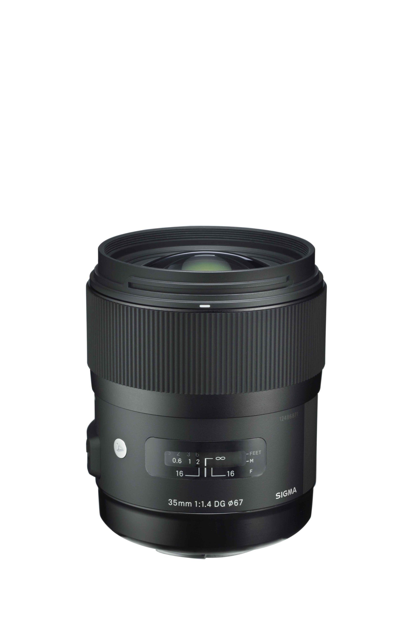 Sigma Art 35mm F1 4 Dg Hsm Lens For Nikon Black On My List A Friend Says Absolutely Get The Sigma 35 1 4 It S So Art Lens Dslr Lenses Fish Eye Lens
