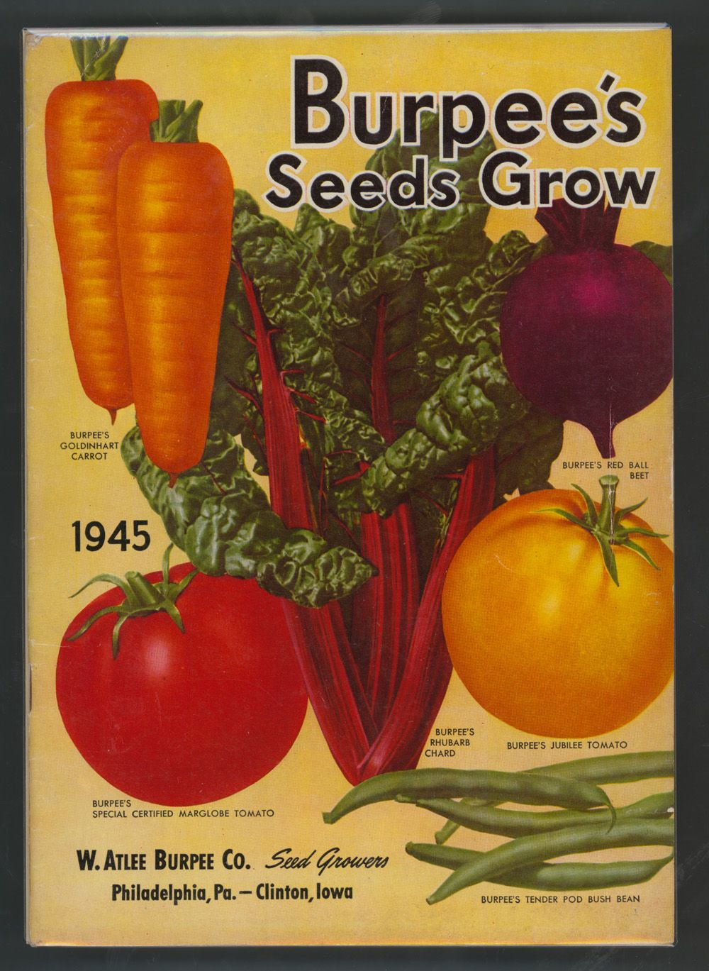 Seed Catalogs from Smithsonian Institution Libraries | Cards ...