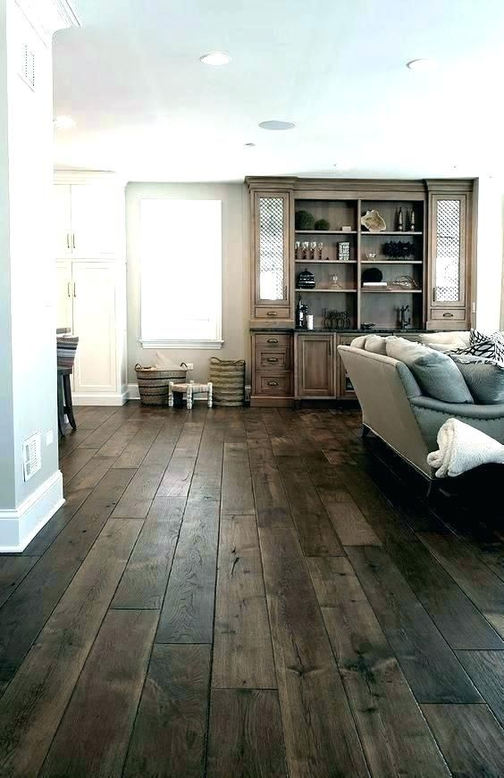 Grey Wood Floors Kitchen Cabinets
