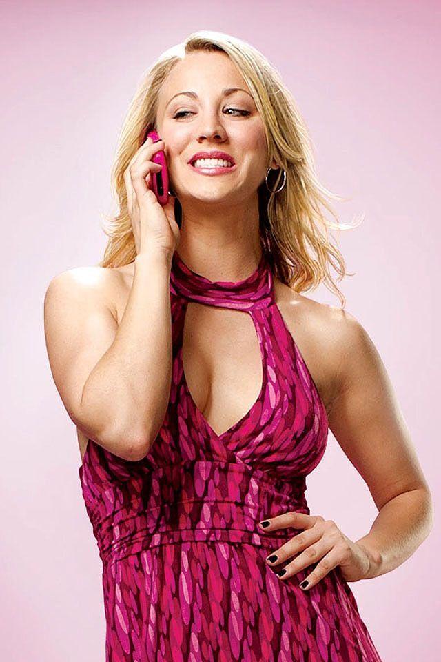 Kaley Cuoco As Penny The Big Bang Theory Season 1 Promo Penny In