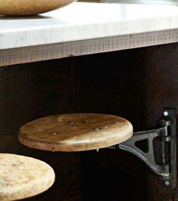 Ausziehbare Küchenhocker | Küche | Pinterest | Küchenhocker ...