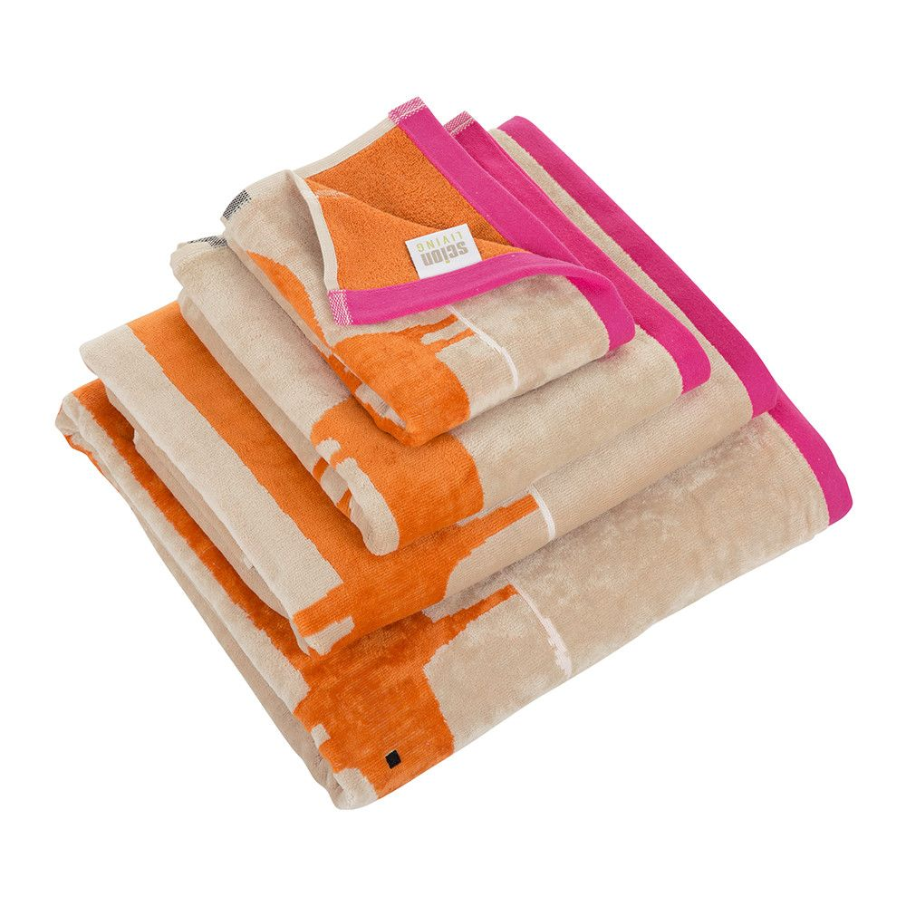 Handtücher Orange Scion Mr Fox Handtuch Rosa Handtuch Bath Bed Pink Hand
