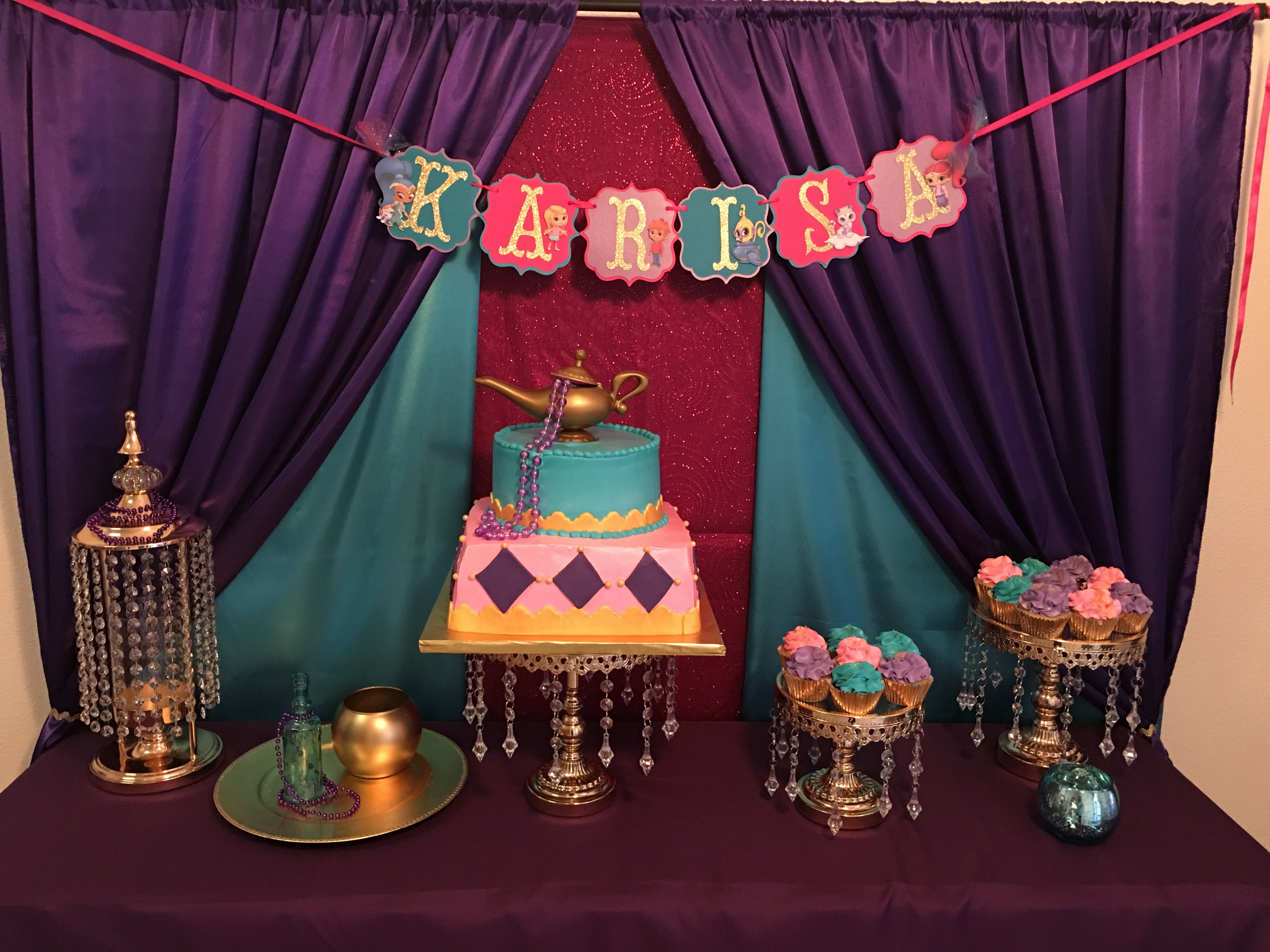 Shimmer And Shine Birthday Party Ideas Shimmer And Shine
