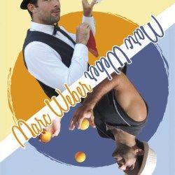 Carte De Visite Et Affiche Pour Le Magicien Jongleur Marc Weber