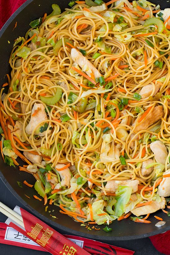 Why Call For Takeout When You Can Make Chicken Chow Mein At Home
