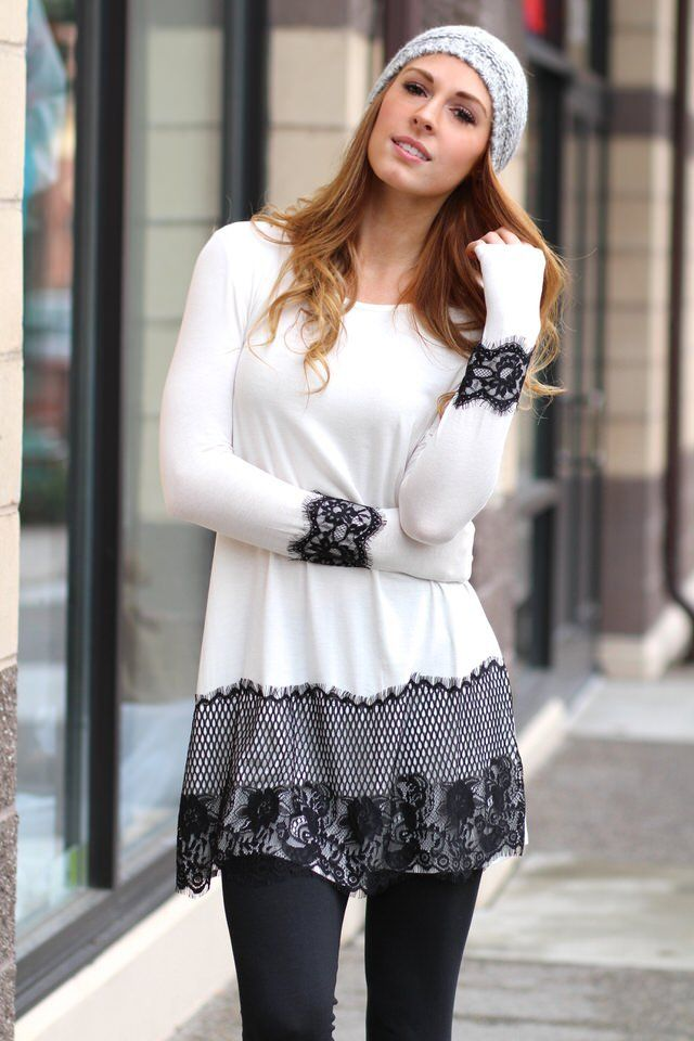 Staying Classy With My Lace Tunic Dress,  (http://www.nanamacs.com/staying-classy-with-my-lace-tunic-dress/)