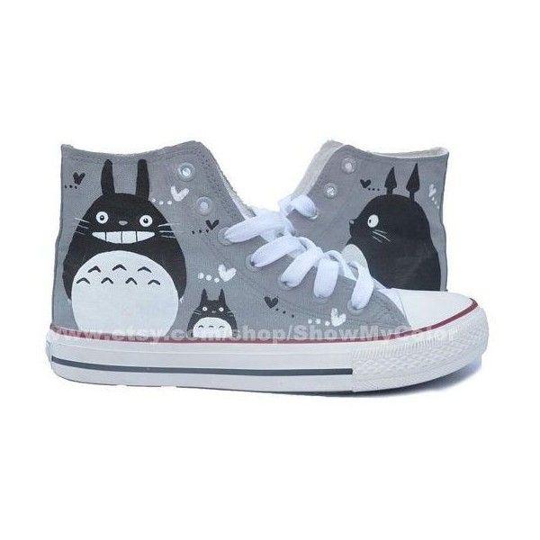 My Neighbor Totoro anime Custom Converse Totoro par
