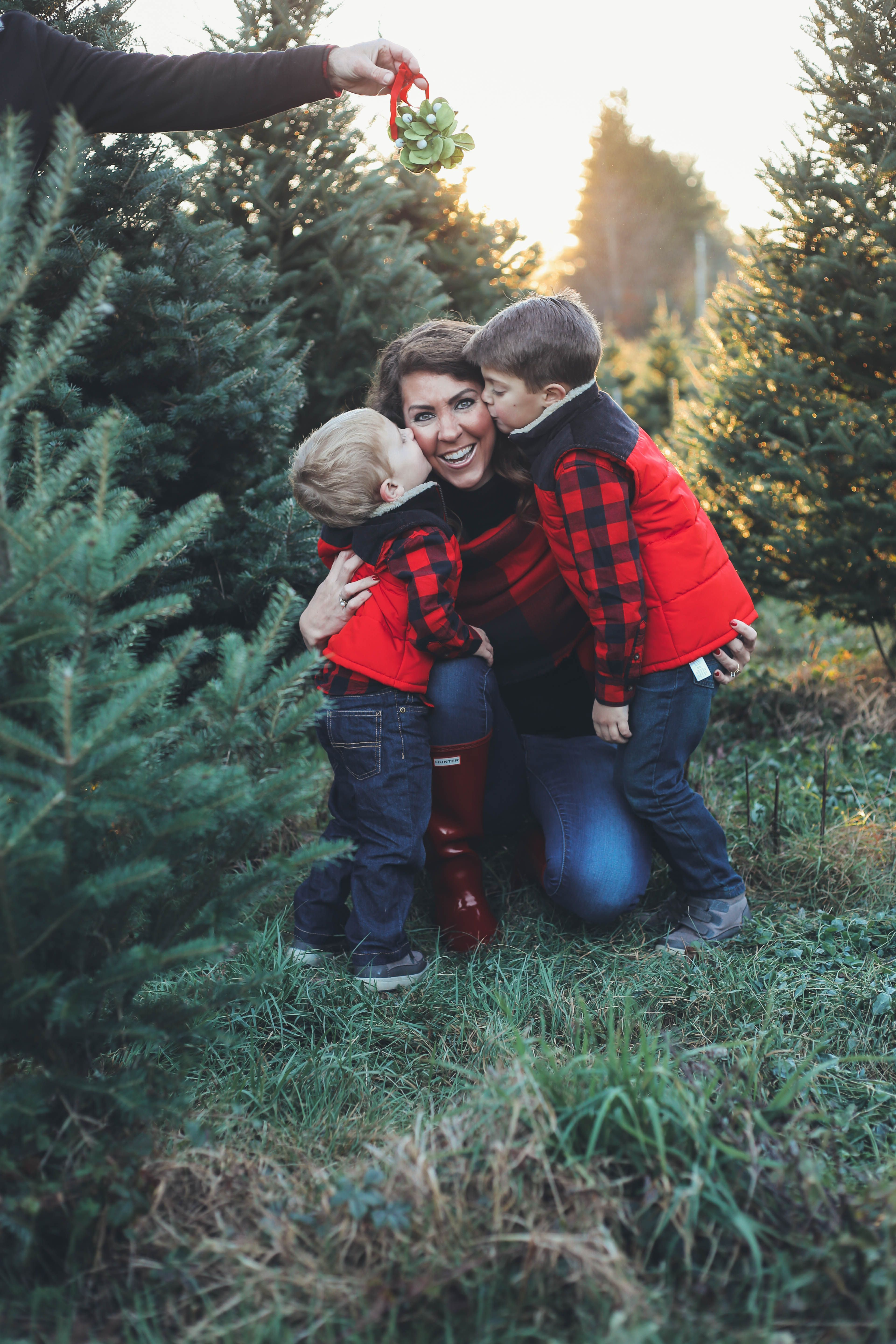 Merry Christmas Tree Farm Family Pictures From The Family Family Christmas Pictures Christmas Tree Farm Photos Black Christmas Trees