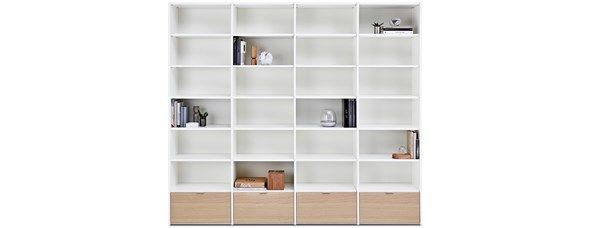 Boconcept Bookcase: @boconcept's Copenhagen Wall System To Display Dishes