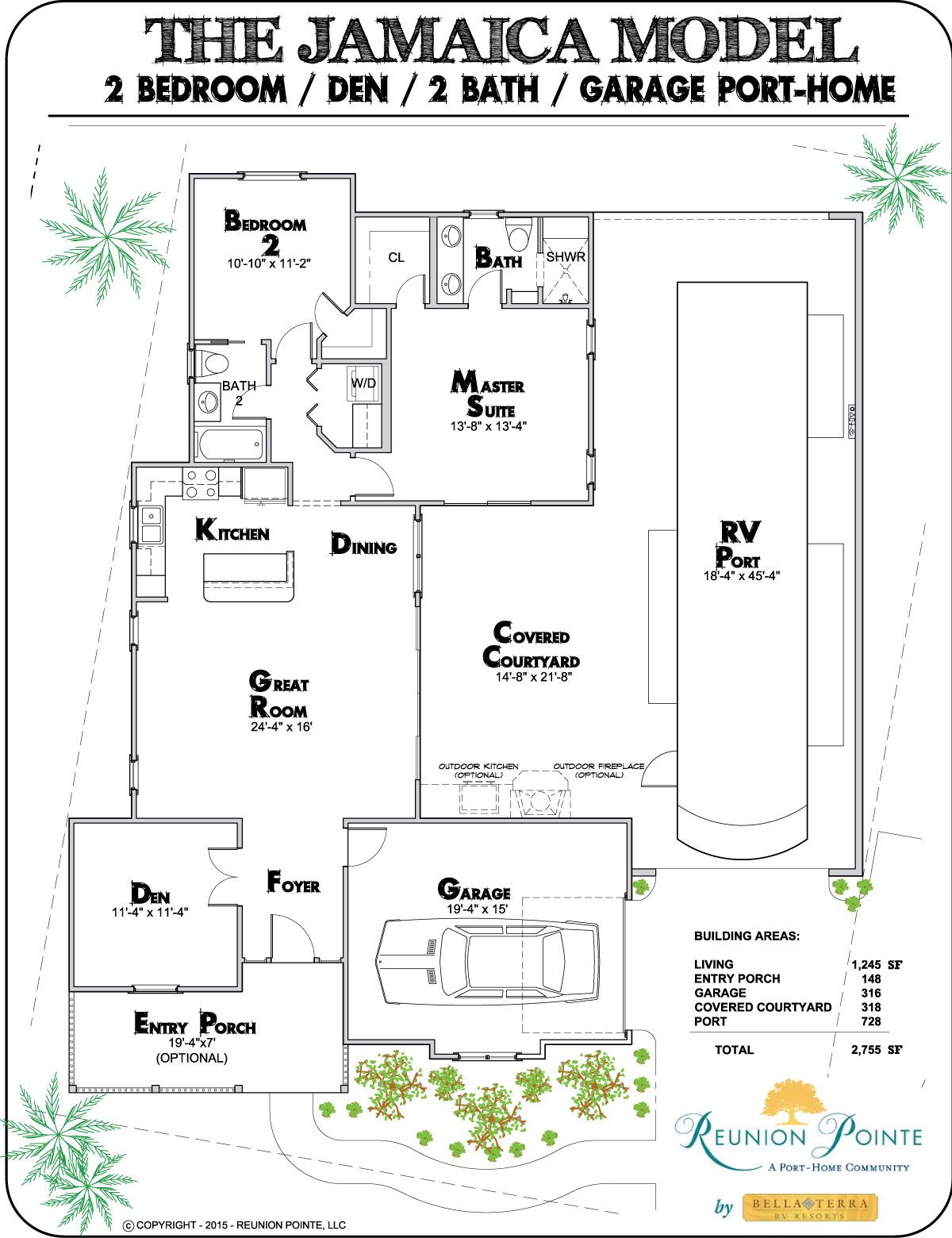 Reunion Pointe Features Four Rver Designed Floor Plans That Seamlessly Combine The Freedom Of Motorcoac Barndominium Floor Plans Barndominium Plans Floor Plans