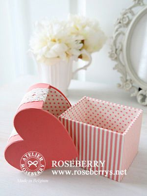 different type of heart box